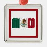 Imagen del texto de la bandera de México Ornatos