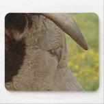 imagen del toro alfombrillas de ratón