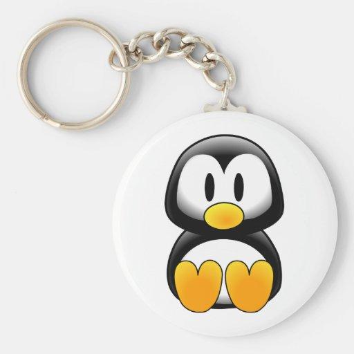 Imagen del tux del pingüino llavero