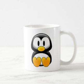 Imagen del tux del pingüino tazas de café