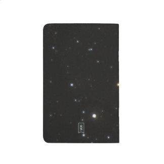 Imagen del uso de los astrónomos para medir la cuadernos grapados