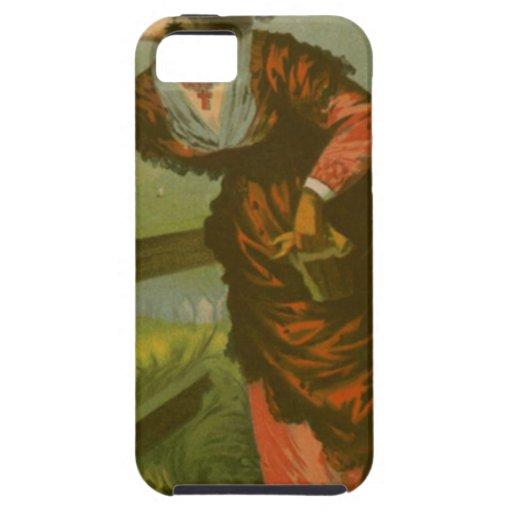 Imagen del vintage: Amor de despedida iPhone 5 Fundas