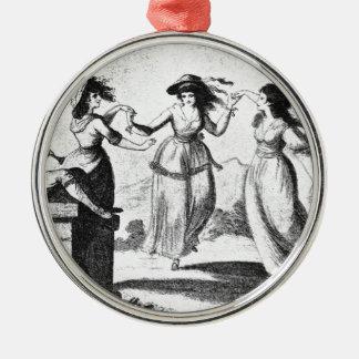 Imagen del vintage Criadas del baile Ornamento De Navidad