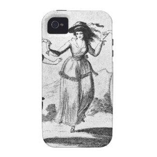 Imagen del vintage Criadas del baile iPhone 4 Fundas