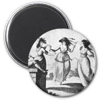 Imagen del vintage Criadas del baile Imán