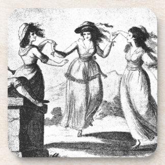 Imagen del vintage Criadas del baile Posavasos De Bebida