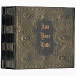 Imagen del vintage, cubierta de libro apenada