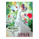 Imagen del vintage de España Postal