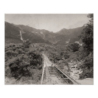 Imagen del vintage de la reproducción, tranvía 188 impresiones