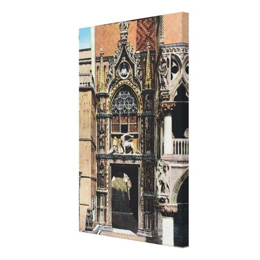 Imagen del vintage de la reproducción, Venecia 191 Lona Estirada Galerias