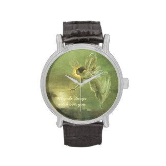 Imagen del vintage - hada mágica - reloj adaptable