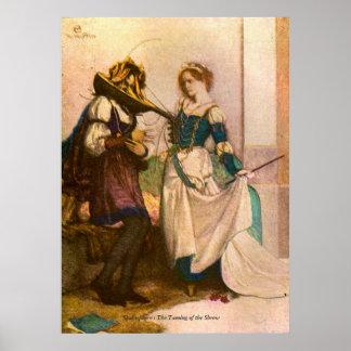 Imagen del vintage - la domesticación de la musara póster