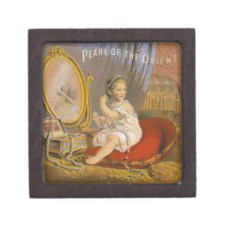 Imagen del vintage Perla del Oriente Caja De Recuerdo De Calidad
