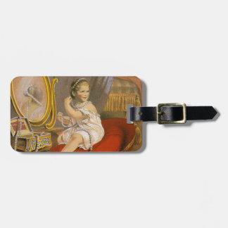 Imagen del vintage Perla del Oriente Etiquetas Bolsa