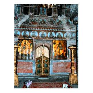 Imagen del vintage, tumba de Vlad Dracul Postales
