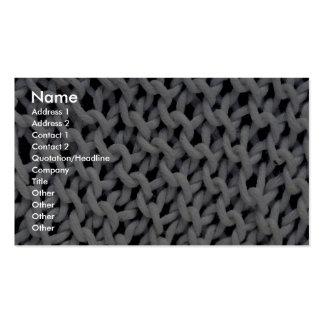 Imagen del washcloth de la cocina plantilla de tarjeta de negocio