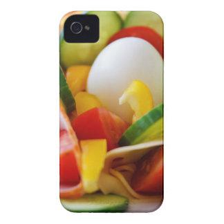 Imagen deliciosa de la comida de la ensalada de la iPhone 4 carcasa