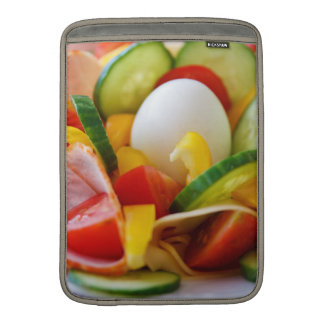 Imagen deliciosa de la comida de la ensalada de la fundas para macbook air