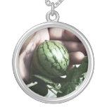 Imagen disponible de la fruta de la sandía del beb collar personalizado