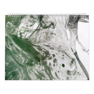Imagen diversa 8 - (verde de papel psychadelic y calendario de pared