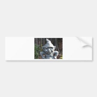 imagen divertida etiqueta de parachoque
