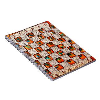 Imagen el patrón para el cuaderno de la foto (80