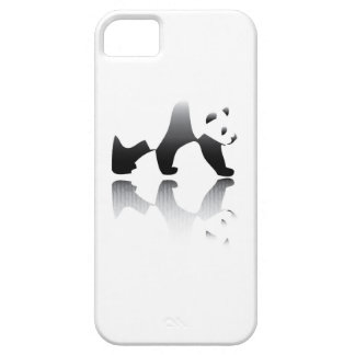 Imagen en peligro del oso de panda iPhone 5 Case-Mate fundas