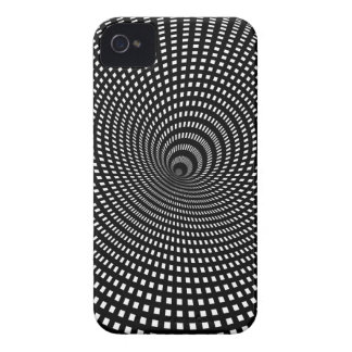 Imagen falsa de la alucinación visual de Wellcoda iPhone 4 Case-Mate Carcasa