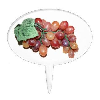 imagen falsa plástica de la comida de la uva decoraciones de tartas