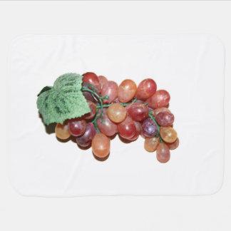 imagen falsa plástica de la comida de la uva manta de bebé