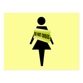 Imagen feminista divertida de la actitud feminista tarjetas postales