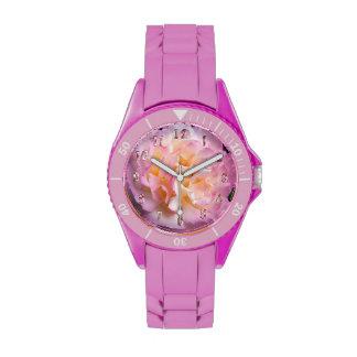 Imagen floral bonita color de rosa rosada
