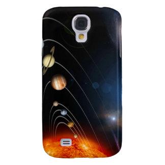 Imagen generada Digital de nuestra Sistema Solar Funda Samsung S4