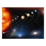 Imagen generada Digital de nuestra Sistema Solar Arte Con Fotos