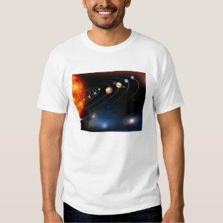 Imagen generada Digital de nuestra Sistema Solar Playera