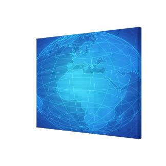 Imagen global impresión en lienzo estirada