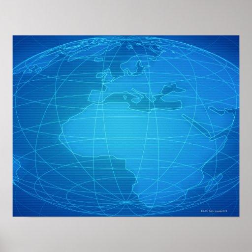 Imagen global poster