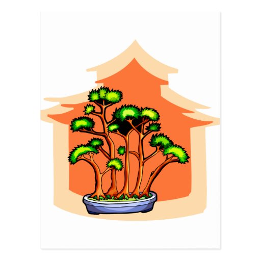 Imagen gráfica 1 del grupo de los bonsais postal