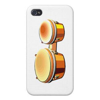 Imagen gráfica del bongo un par de bongoes iPhone 4 cobertura