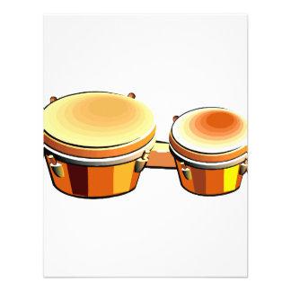 Imagen gráfica del bongo un par de bongoes comunicado