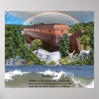 Imagen grande de la lona del lustre de la diorama  poster