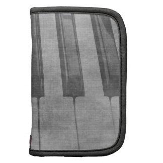 Imagen gris silenciada del teclado de piano del Gr Planificador