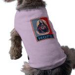 Imagen hermosa de Cristo en un diseño del arte mod Camisetas De Mascota