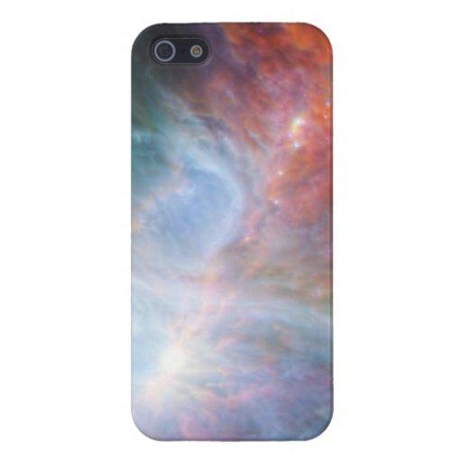 Imagen hermosa de la galaxia iPhone 5 cárcasa