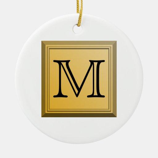 Imagen impresa de un diseño de encargo del ornamento de navidad