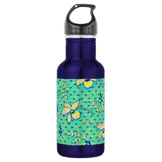 Imagen impresionante de la tela de Feedsack del Botella De Agua De Acero Inoxidable