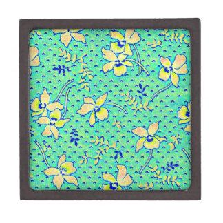 Imagen impresionante de la tela de Feedsack del vi Cajas De Recuerdo De Calidad