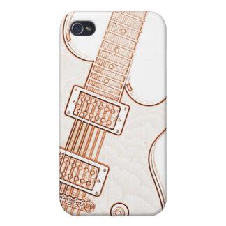 Imagen Ipad de la guitarra o caso de Iphone iPhone 4 Cobertura