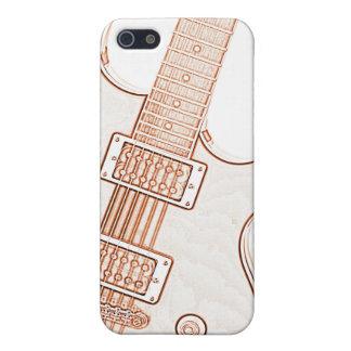 Imagen Ipad de la guitarra o caso de Iphone iPhone 5 Coberturas
