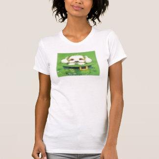 Imagen irlandesa del perrito camisetas